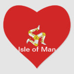 Flag of  the Isle of Man Stickers