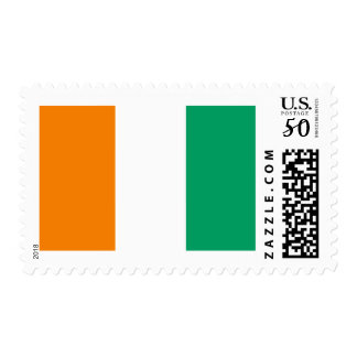 Flag of the Ivory Coast Postage Stamps