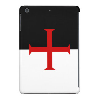 Flag of the Knights Templar iPad Mini Retina Case