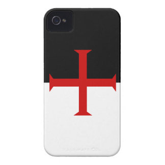 Flag of the Knights Templar iPhone 4 Case