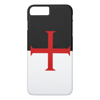 Flag of the Knights Templar iPhone 7 Plus Case