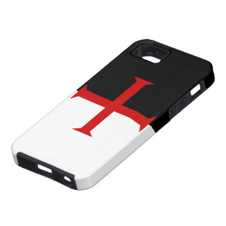 Flag of the Knights Templar iPhone SE/5/5s Case