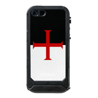 Flag of the Knights Templar Waterproof iPhone SE/5/5s Case