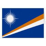 Flag of the Marshall Islands Card