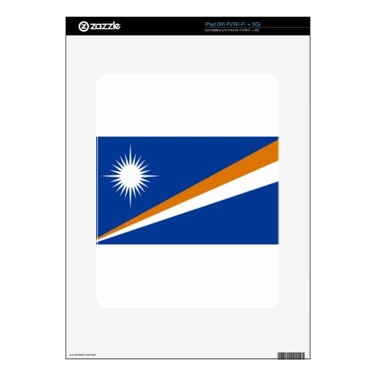 Flag of the Marshall Islands Decals For The iPad