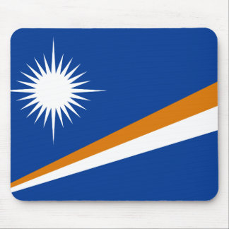 Flag of the Marshall Islands Mousepad