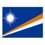 Flag of the Marshall Islands Post Cards
