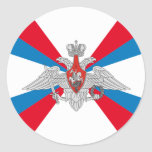 Flag of the Ministry of Defence of the Russia Classic Round Sticker