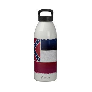 Flag of the Mississippi Water Bottles