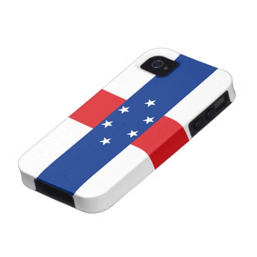 Flag of the Netherlands Antilles iPhone 4 Case