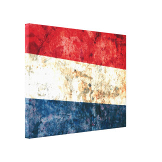 Flag of the Netherlands Canvas Print