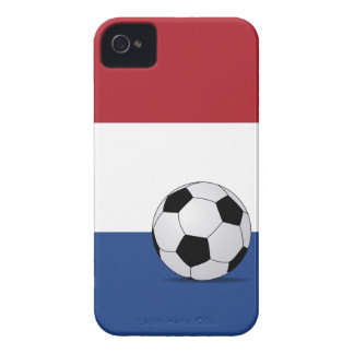 Flag of the Netherlands & Footbal iPhone 4(s) Case