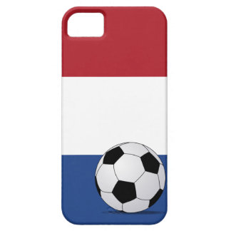 Flag of the Netherlands & Footbal iPhone 5(s) Case iPhone 5 Cover