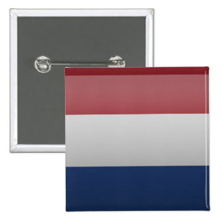 Flag of the Netherlands Pinback Button