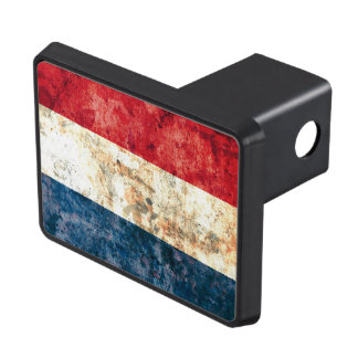 Flag of the Netherlands Tow Hitch Covers