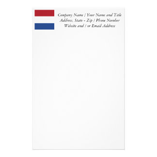 Flag of the Netherlands Stationery
