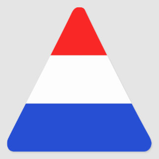 Flag of the Netherlands Triangle Sticker