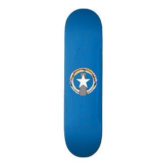 Flag of the Northern Mariana Is. Skateboard Deck
