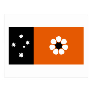 Flag of the Northern Territory Postcard