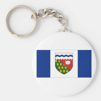 Flag of the Northwest Territories, Canada Basic Round Button Keychain