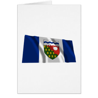 Flag of the Northwest Territories, Canada Card