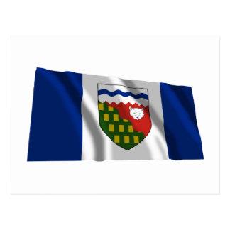 Flag of the Northwest Territories, Canada Postcard