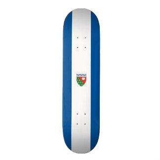 Flag of the Northwest Territories Skateboard Deck