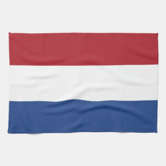 Flag of the of the Netherlands Kitchen Towel
