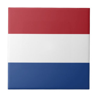 Flag of the of the Netherlands Tile