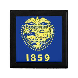 Flag of the Oregon Jewelry Box
