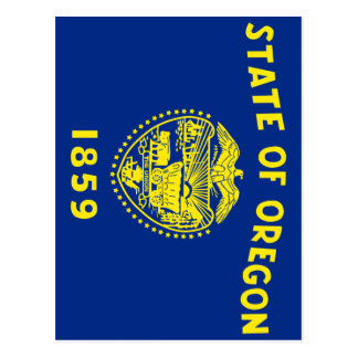 Flag of the Oregon Postcard