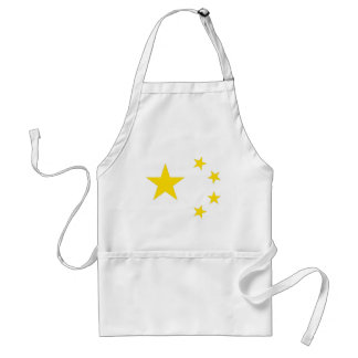 Flag of the People's Republic of China Adult Apron