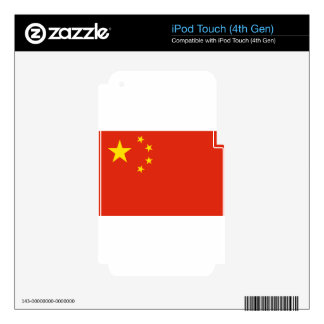 Flag_of_the_People's_Republic_of_China Skins For iPod Touch 4G