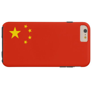 Flag of the Peoples Republic of China Tough iPhone 6 Plus Case