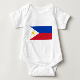 Flag_of_the_Philippines Baby Bodysuit