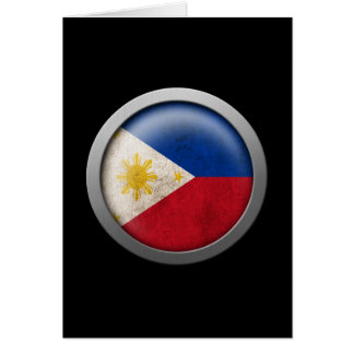 Flag of The Philippines Disc Card