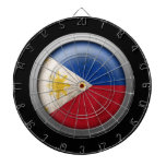 Flag of The Philippines Disc Dartboards
