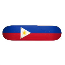 Flag of the Philippines Skateboard Deck