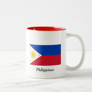 Flag of the Philippines Two-Tone Coffee Mug