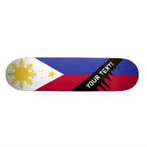 Flag of the Phillipines Skateboard Deck
