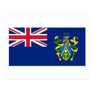 Flag of The Pitcairn Islands Postcard