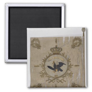 Flag of the Prussian Infantry 2 Inch Square Magnet