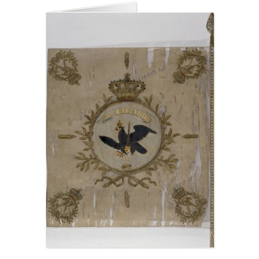 Flag of the Prussian Infantry Card