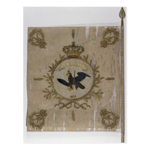 Flag of the Prussian Infantry Post Card