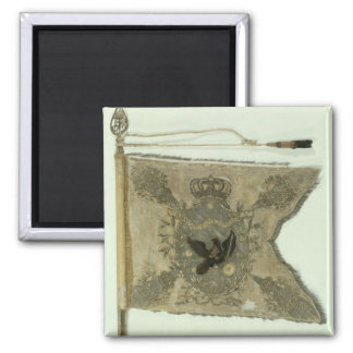 Flag of the Prussian Infantry under Frederick 2 Inch Square Magnet