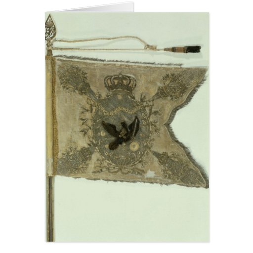 Flag of the Prussian Infantry under Frederick Greeting Card