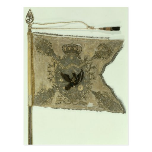 Flag of the Prussian Infantry under Frederick Post Card