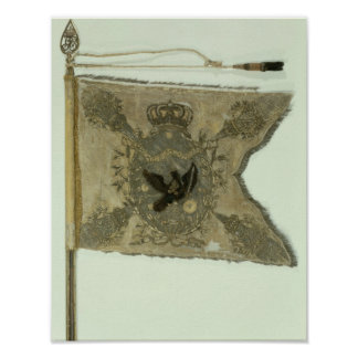 Flag of the Prussian Infantry under Frederick Poster