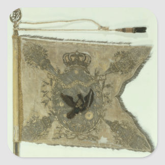 Flag of the Prussian Infantry under Frederick Square Sticker