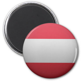 Flag of the Republic of Austria Magnet